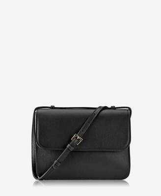 GiGi New York Abbot Crossbody Black Italian Calfskin Leather