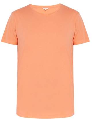 Orlebar Brown Ob T Cotton T Shirt - Mens - Orange