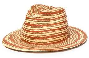 Rag & Bone Striped Straw Panama Hat