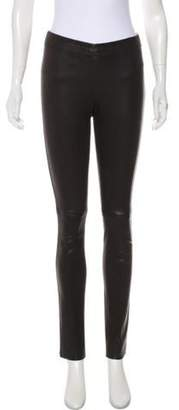 Joseph Low-Rise Skinny Pants Black Low-Rise Skinny Pants