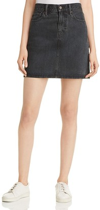 Levi's Every Day Denim Skirt in Mixed Tape $69.50 thestylecure.com