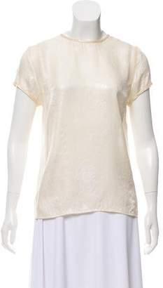 J Brand Silk Printed T-Shirt
