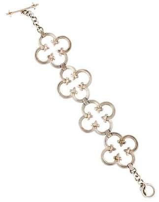 Jude Frances Quatrefoil Link Bracelet