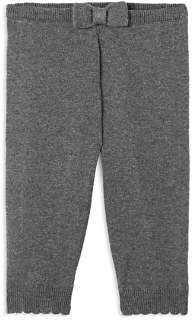 Jacadi Girls' Knit Leggings with Bow - Baby
