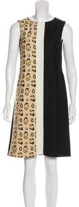 Giambattista Valli Printed Linen-Blend Dress