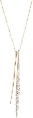 Alexis Bittar Jagged Diamond Spear Necklace