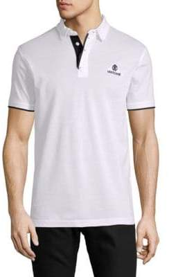 Roberto Cavalli Short-Sleeve Cotton Polo