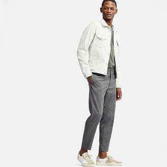 Uniqlo Men's Ezy Ankle-length Pants (houndtooth)
