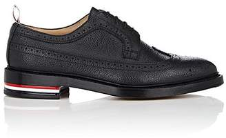 Thom Browne Men's Pebbled Leather Wingtip Bluchers