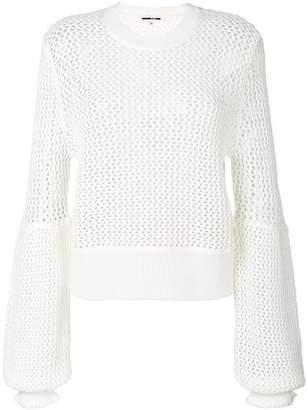 McQ (マックキュー) - McQ Alexander McQueen メッシュディテール セーター