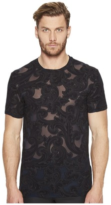 Versace Collection - Printed T-Shirt Men's T Shirt $395 thestylecure.com