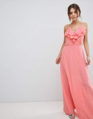 New Look Ruffle Maxi Dress