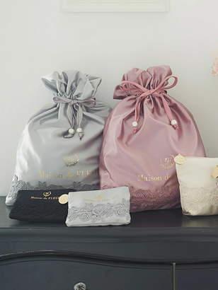 Maison de Fleur (メゾン ド フルール) - Maison de FLEUR ローズレース巾着 メゾン ド フルール バッグ