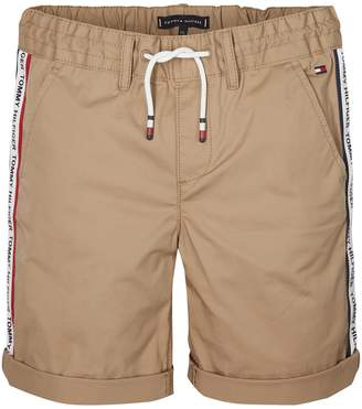 Tommy Hilfiger Bermuda Shorts with Elasticated Waist, 12-16 Years
