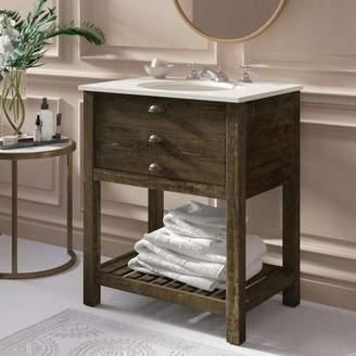 """Mercer41 Ladwig 1 Drawer 30"""" Single Bathroom Vanity"""