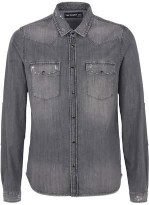 7cdf1cbda2 The Kooples Denim Men's Shirts - ShopStyle