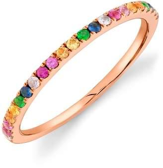 Ron Hami 14K Rose Gold Multi-Color Gemstone Ring