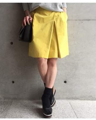 aquagirl (アクアガール) - アクアガール [洗える]タックフレアカラースカート
