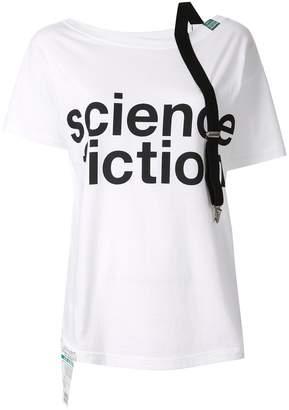 Puma Maison Yasuhiro Suspender off shoulder T-shirt