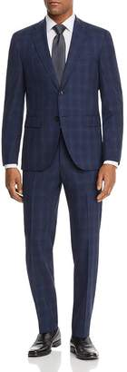 HUGO BOSS Jeckson/Lenon Tonal Plaid Regular Fit Suit