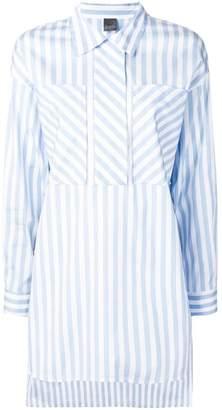 Lorena Antoniazzi patchwork striped shirt