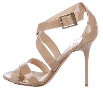 Jimmy Choo Patent Leather High-Heel Sandals