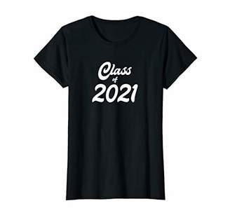 Womens Class of 2021 Shirts Graduation Gift Her Women Senior Class T-Shirt