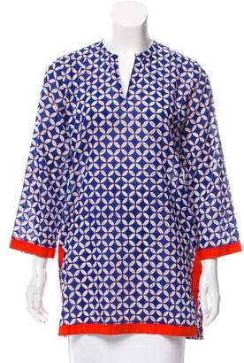 Roberta Roller Rabbit Printed Cotton Tunic