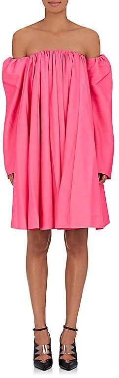 CALVIN KLEIN 205W39NYC Women's Matte Tech-Taffeta Tent Dress