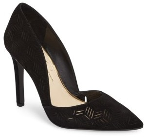 Women's Jessica Simpson Charie Pointy Toe D'Orsay Pump $97.95 thestylecure.com