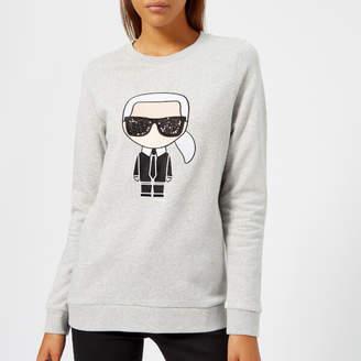 Karl Lagerfeld Women's Ikonik Sweatshirt