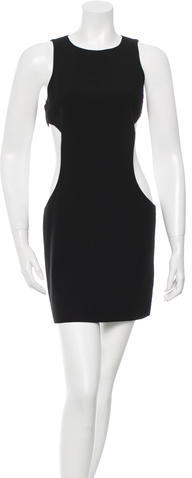 Alice + Olivia Alice + Olivia Cutout Mini Dress