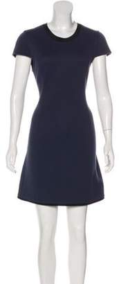 3.1 Phillip Lim Mini Short Sleeve Dress Navy Mini Short Sleeve Dress