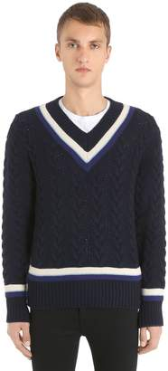 Kent & Curwen Superfine Wool Knit Sweater