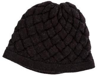Bottega Veneta Woven Wool Hat