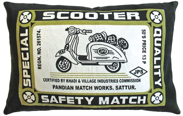 Koko Match Co Scooter Pillow