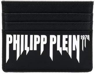 Philipp Plein logo cardholder wallet