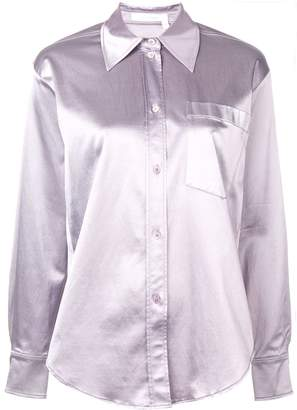 See by Chloe pointed collar shirt