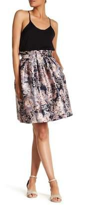 Ted Baker Eloquent Floral Paper Bag Skirt