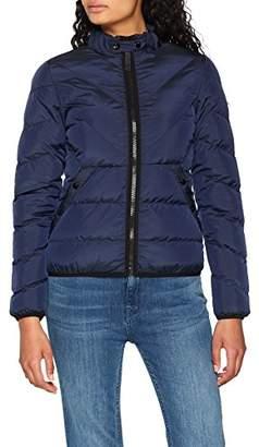 G Star Women's Strett Qlt JKT Wmn Jacket, (Sartho Blue 6067)