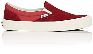 Vans Men's OG Classic Slip-On LX Sneakers - Red