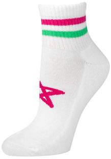SuperStar MCGREGOR Womens Striped Crew Socks