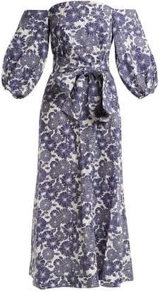 Lisa Marie Fernandez Rosie floral-print cotton dress