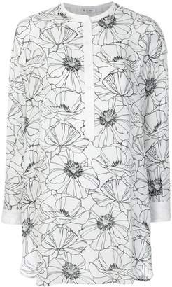 Loro Piana printed tunic shirt