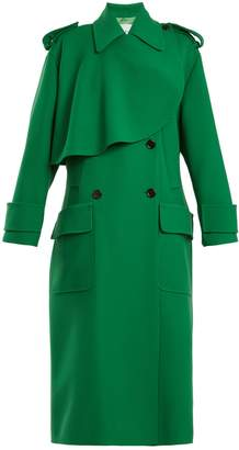Valentino Double-breasted wool trench coat