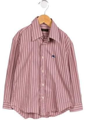 Etro Boys' Striped Button-Up Shirt
