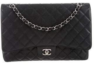 Chanel Caviar Classic Maxi Single Flap Bag