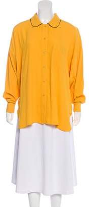 Sonia Rykiel Long Sleeve Button-Up Top