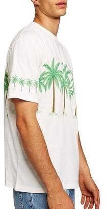 Topman Oversize Palm Trees Graphic T-Shirt