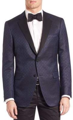 Saks Fifth Avenue COLLECTION BY SAMUELSOHN Classic-Fit Jacquard Formal Sportcoat